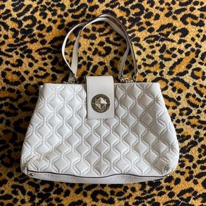 Kate Spade Astor court Elena quilted pebbled handb